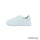 Кеды женские кожаные белые весна - t2165-0 ZodiaQ, фото 3