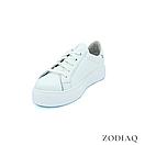 Кеды женские кожаные белые весна - t2165-0 ZodiaQ, фото 2