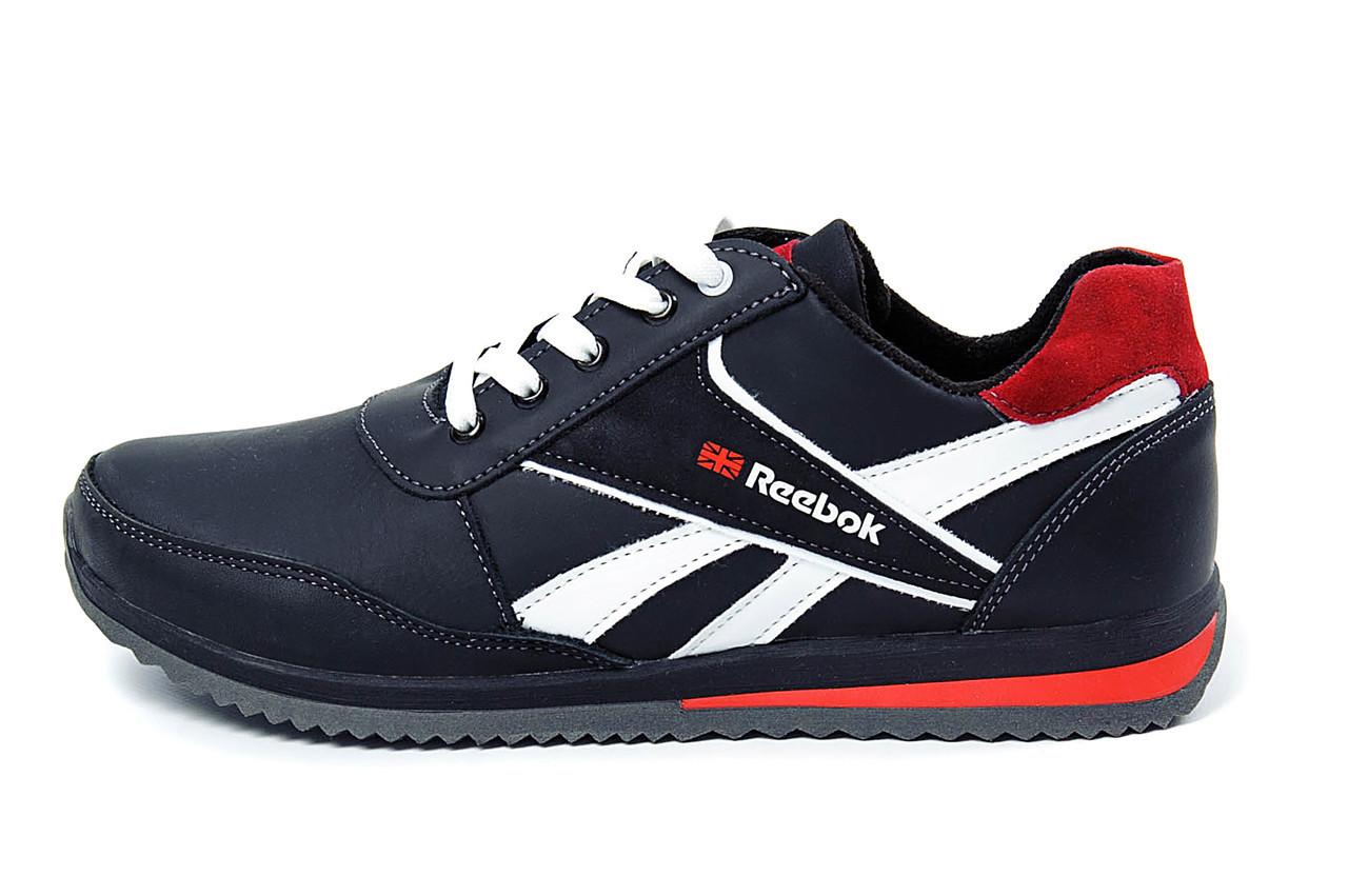 Чоловічі шкіряні кросівки Anser Reebok NS black