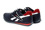 Чоловічі шкіряні кросівки Anser Reebok NS black, фото 5