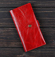 Портмоне алькор красный (кожа), фото 1