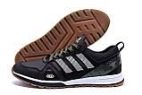 Мужские кожаные кроссовки Adidas A19 Green Star, фото 5