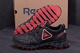 Мужские кожаные кроссовки  Reebok Tracking, фото 7
