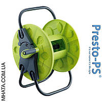 Катушка для шланга (без колёс) зеленая (60м-1/2) Presto-Ps 3201
