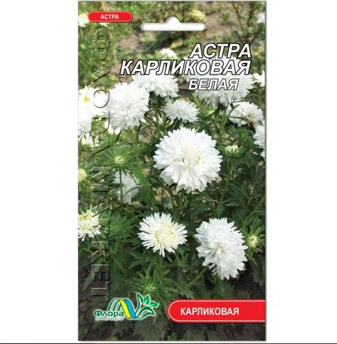 Айстра Карликова біла насіння 0.3 г