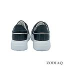 Кеды женские кожаные черные весна - t2165-2 ZodiaQ, фото 5