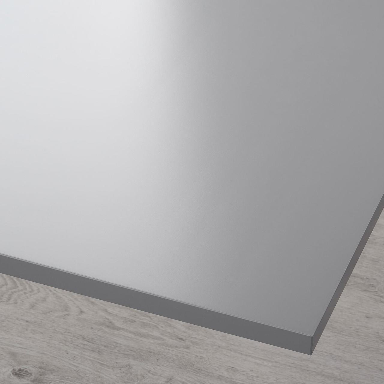 Cтолешница IKEA RODULF серая 140x80 см 504.643.04