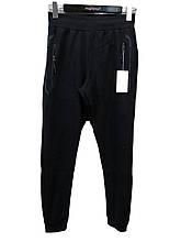 Мужские спортивные штаны на манжетах Tommy Life Темно-синие