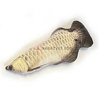 Игрушка рыба арована 60см с кошачьей мятой