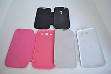"Чохол-книжка ""Flip-COVER"" SAMSUNG G900/S5 WHITE, фото 3"