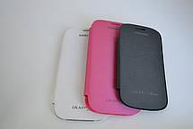 "Чехол-книжка ""Flip-COVER"" SAMSUNG G900 / S5 WHITE, фото 2"