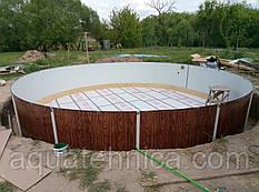 Бассейн каркасный Azuro VAR 403 DL 5,5 x 1,2 м (без плёнки)