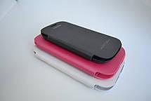 "Чохол-книжка ""Flip-cover"" SAMSUNG I9300 white, фото 3"