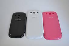 """Чохол-книжка """"Flip-cover"""" SAMSUNG I9500 ROSE, фото 2"""
