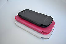 """Чохол-книжка """"Flip-cover"""" SAMSUNG I9500 ROSE, фото 3"""