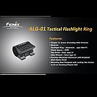 Кріплення на зброю для ліхтарів Fenix Пікатіні ALG-01, фото 5