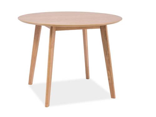 Круглый стол MOSSO II дуб 100x100