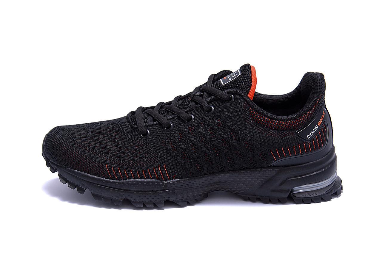 Чоловічі кросівки літні сітка BS RUNNING SYSTEM Black