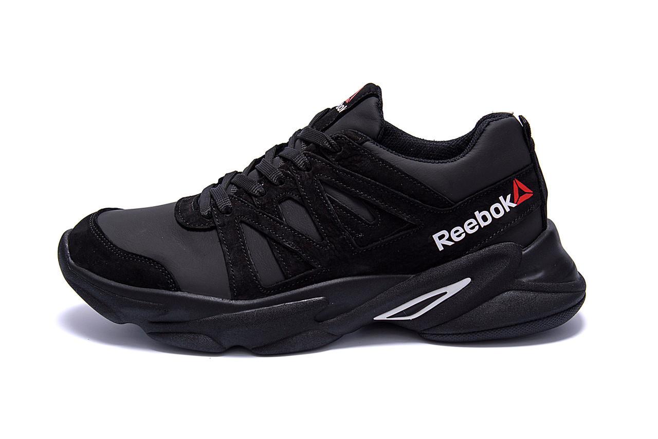 Чоловічі шкіряні кросівки Reebok Classic Black