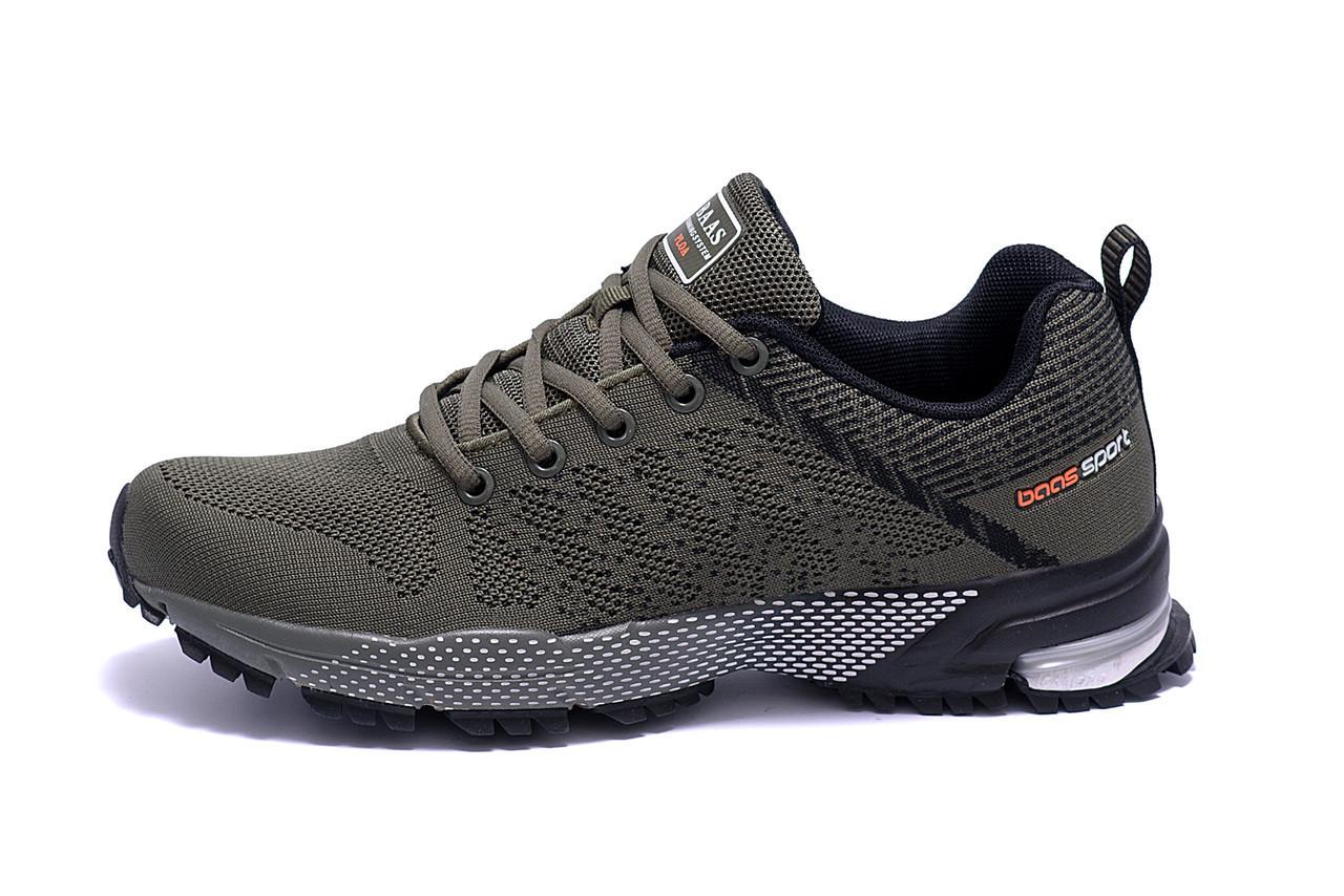 Чоловічі кросівки літні сітка BS RUNNING SYSTEM Green
