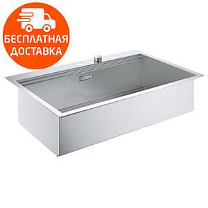 Кухонная мойка Grohe EX Sink K800 31584SD0 нержавеющая сталь