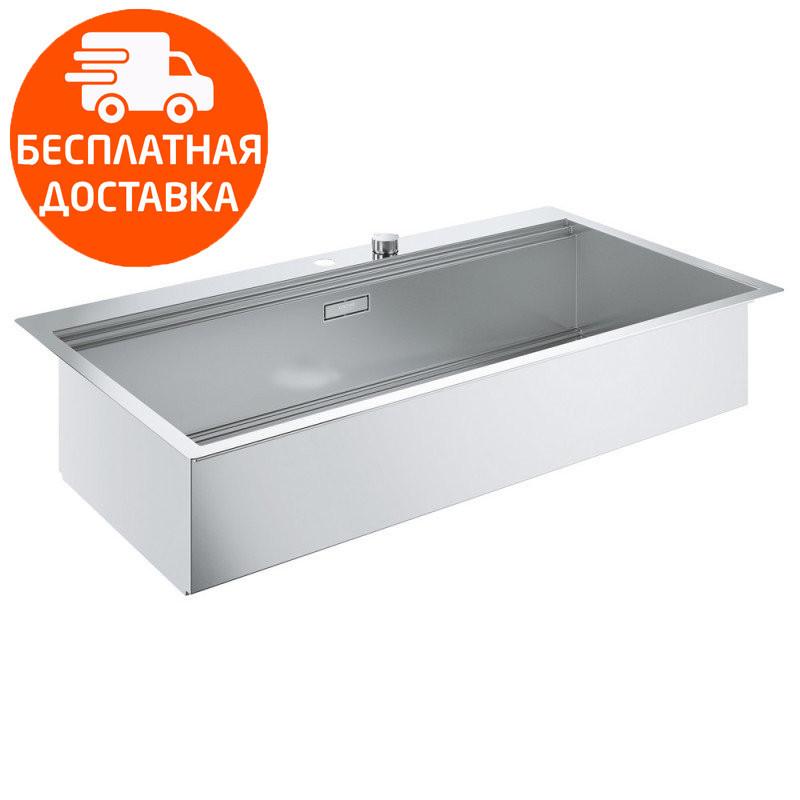 Кухонная мойка Grohe EX Sink K800 31586SD0 нержавеющая сталь