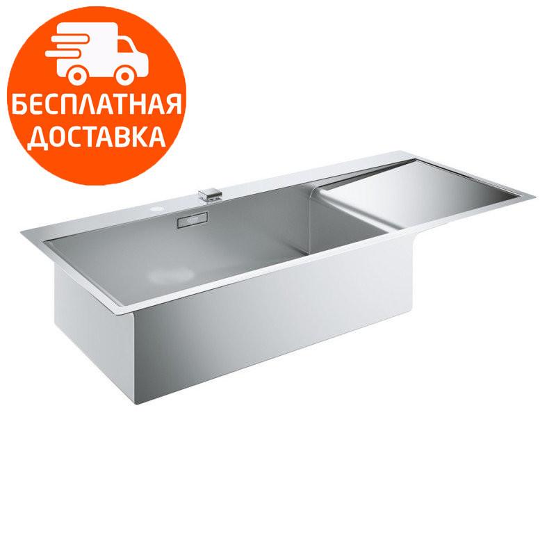 Кухонная мойка с крылом справа Grohe EX Sink K1000 31581SD0 нержавеющая сталь
