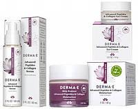 Программа по уходу «Пептиды и коллаген от глубоких морщин 45+» Derma E (США), официальный сайт