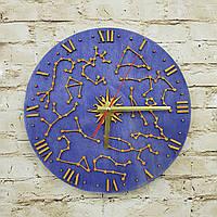 Дерев'яний настінний годинник сузір'я, 3D