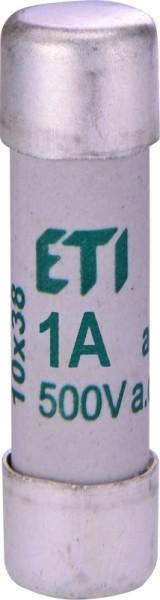 Предохранитель ETI CH 10x38 aM 2A 500V 100kA 2621001 (медленный, керамика)