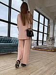 Женский вязаный хлопковый костюм свободного кроя (в расцветках), фото 2