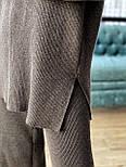 Женский вязаный хлопковый костюм свободного кроя (в расцветках), фото 7