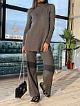 Женский вязаный хлопковый костюм свободного кроя (в расцветках), фото 8