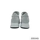 Кроссовки женские кожаные/замшевые белые весна - t8121-0-90 ZodiaQ, фото 5