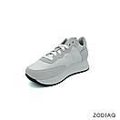 Кроссовки женские кожаные/замшевые белые весна - t8121-0-90 ZodiaQ, фото 2