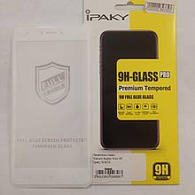 Защитное стекло 4D Ipaky Xiaomi Redmi Note 4X White