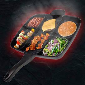 Профессиональная сковорода 5 в 1 MASTER PAN