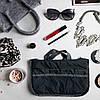 Органайзер-вкладыш для сумки ORGANIZE украинский аналог Bag in Bag (серый), фото 2