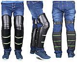 Розпродаж! Наколінники зимові вітрозахисні для мотоцикла + Вітрозахисні рукавички-рукавички на кермо, фото 3
