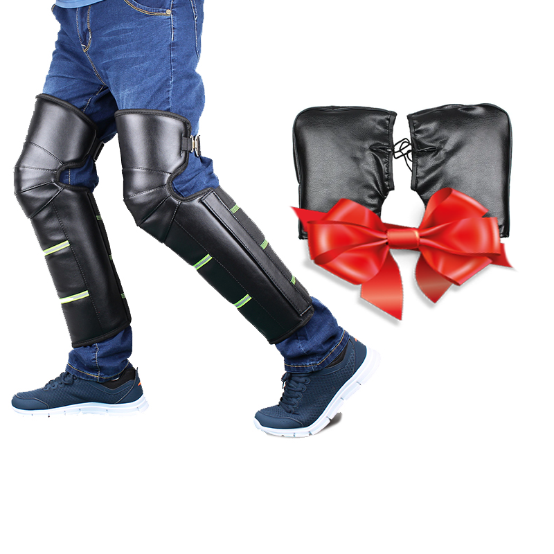 Розпродаж! Наколінники зимові вітрозахисні для мотоцикла + Вітрозахисні рукавички-рукавички на кермо