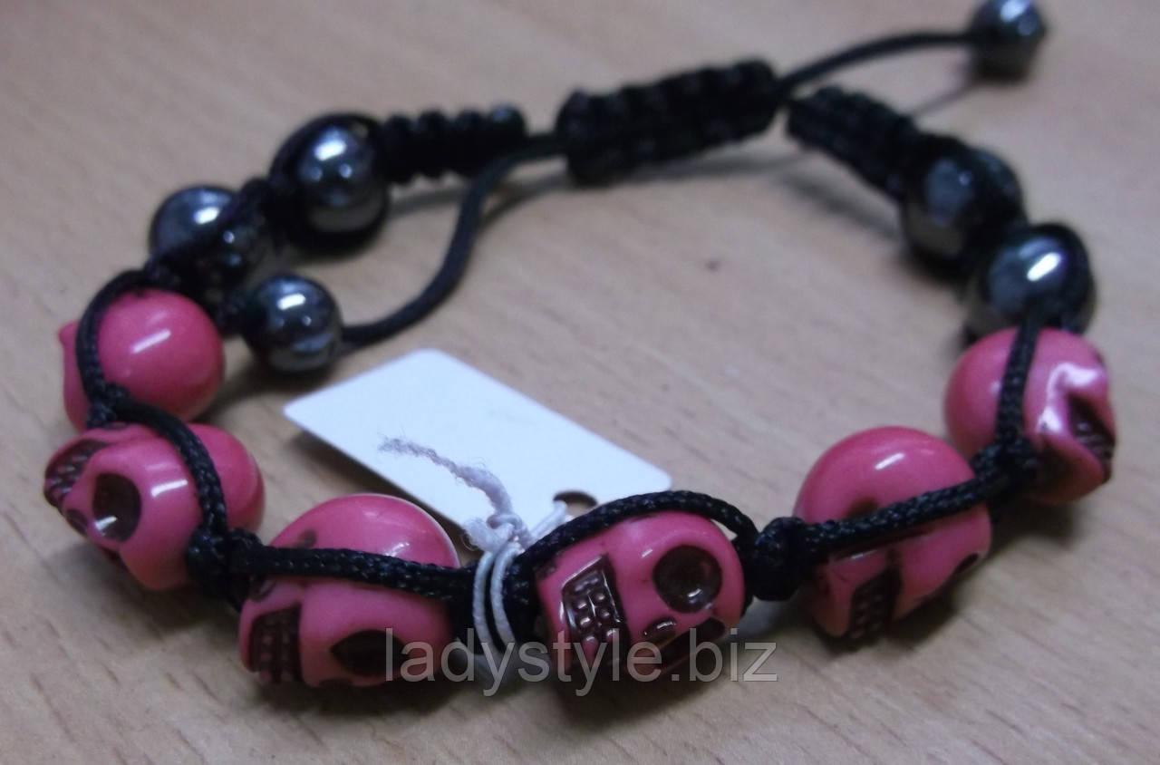"""Оригинальные яркие браслеты Шамбала """"ХЕЛЛОВИН"""" от Студии  www.LadyStyle.Bizразных цветов"""