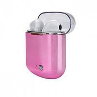 Зарядный бокс Power Bank / Кейс для наушников I7, I7S, I8 TWS Electroplate Purple Box HBQ -Уценка