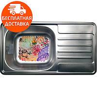 Кухонная мойка стальная Galati Milana Satin 8493 нержавеющая сталь