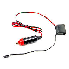 Гибкий светодиодный неон LTL для автомобиля 5 метров DC 12v Red, фото 3