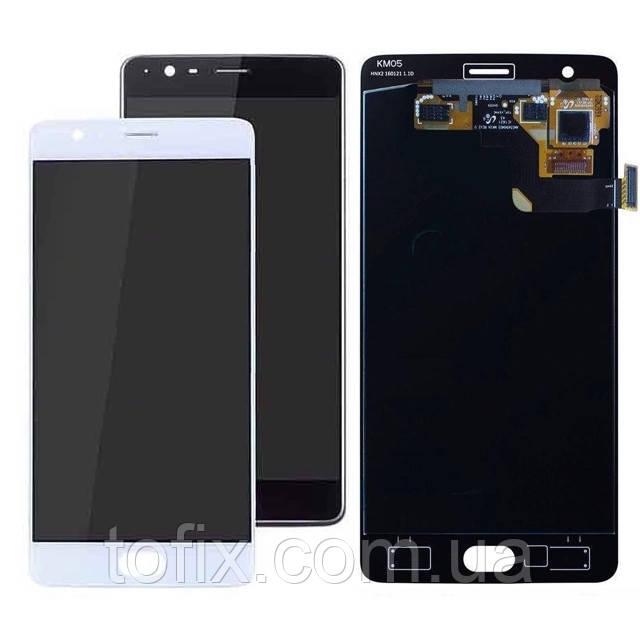 Дисплей для OnePlus 3 A3003, OnePlus 3T A3010, модуль в зборі (екран і сенсор), OLED