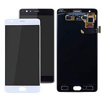 Дисплей для OnePlus 3 A3003, OnePlus 3T A3010, модуль в зборі (екран і сенсор), OLED, фото 1