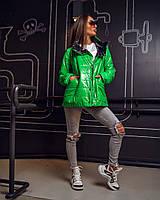 Женская Стильная Двусторонняя Куртка