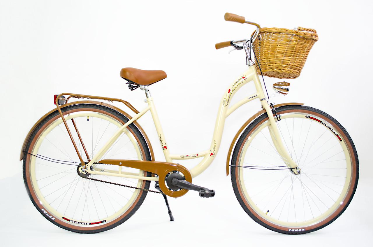 Велосипед VANESSA 28 crem  Польша