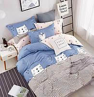 Двуспальное евро постельное белье сатин лайт LOVE YOU TL 181188