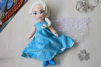 00417-02 Кукла Эльза мягкая игрушка тм Копиця